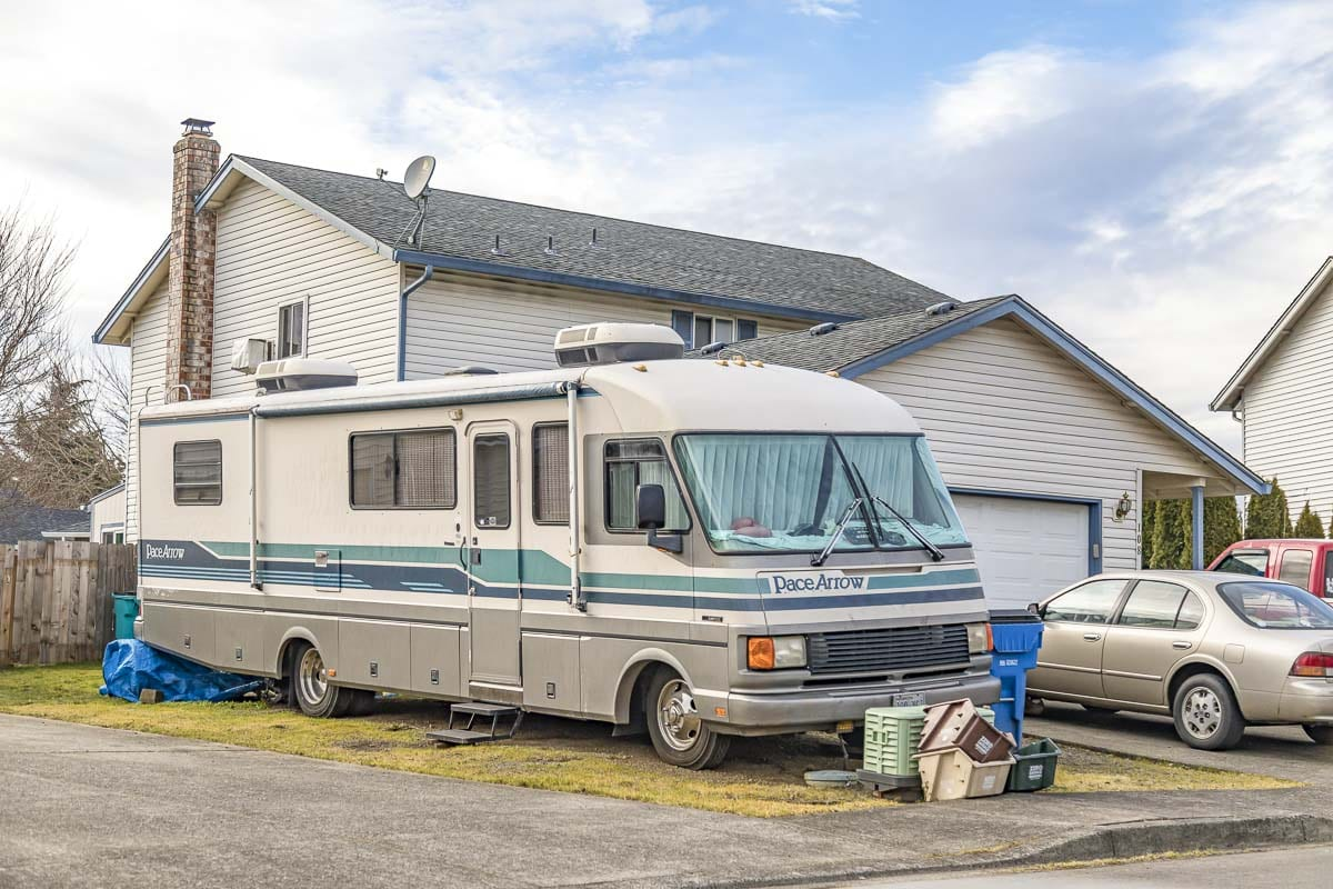 A temporary ordinance approved by members of the Clark County Council on Wednesday would allow people to use recreational vehicles as additional living space during the COVID-19 pandemic. File photo by Mike Schultz