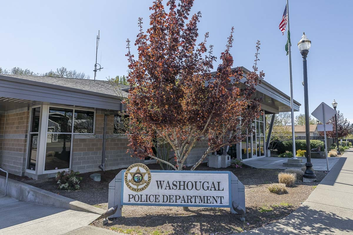 Results of the city of Washougal's 2020 Community Survey showed 78 percent were satisfied with the quality of police services. Photo by Mike Schultz