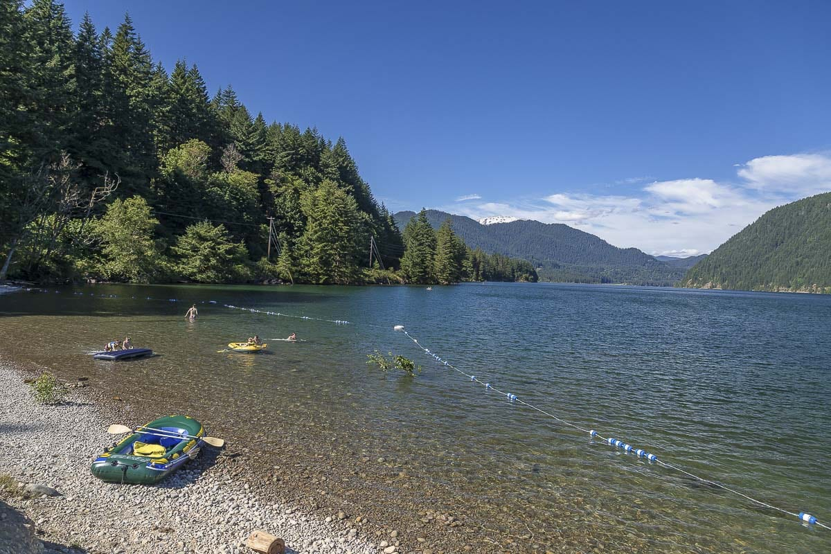 The new openings come three weeks after the May 5 reopening of most day use recreation areas along Pacific Power's Lewis River reservoirs east of Woodland. Photo by Mike Schultz