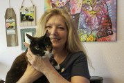 Calming cat lady comes through for cat community