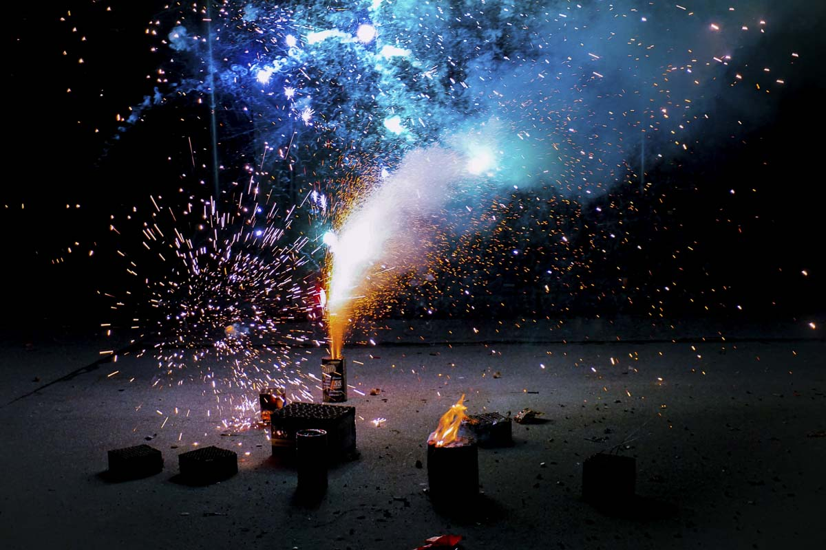 Failing to clean up fireworks residue is littering, a violation of Washington law and Clark County ordinance. Clark County Public Works does not provide additional street sweeping after Independence Day. File photo