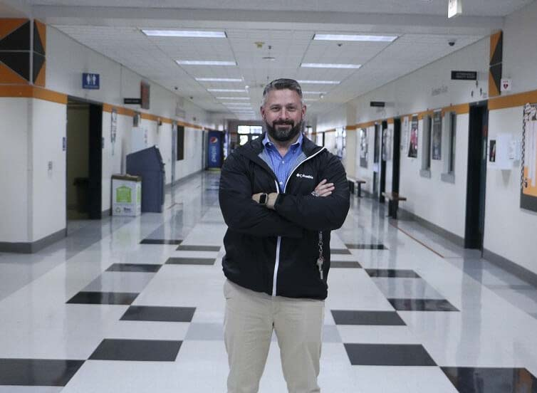 Charbonneau Gourde took over as principal of Battle Ground High School in 2018. Photo courtesy Battle Ground Public Schools