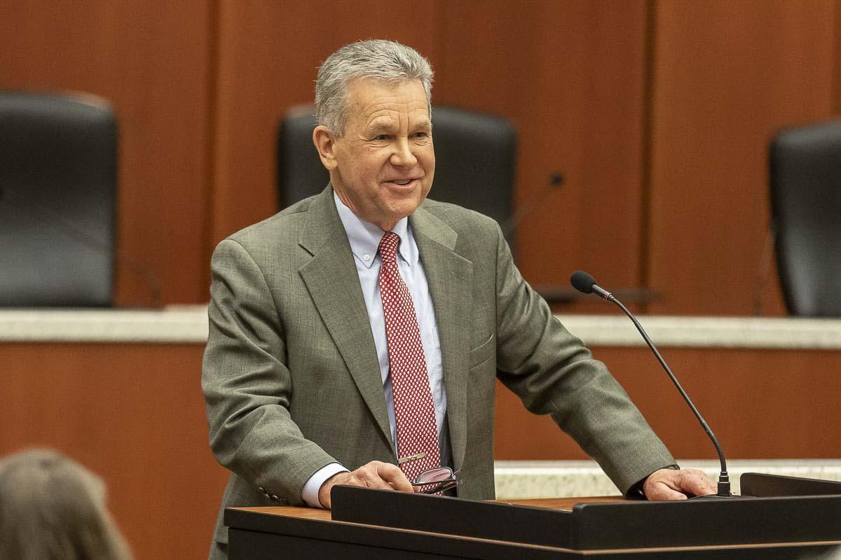 Clark County Councilor Gary Medvigy