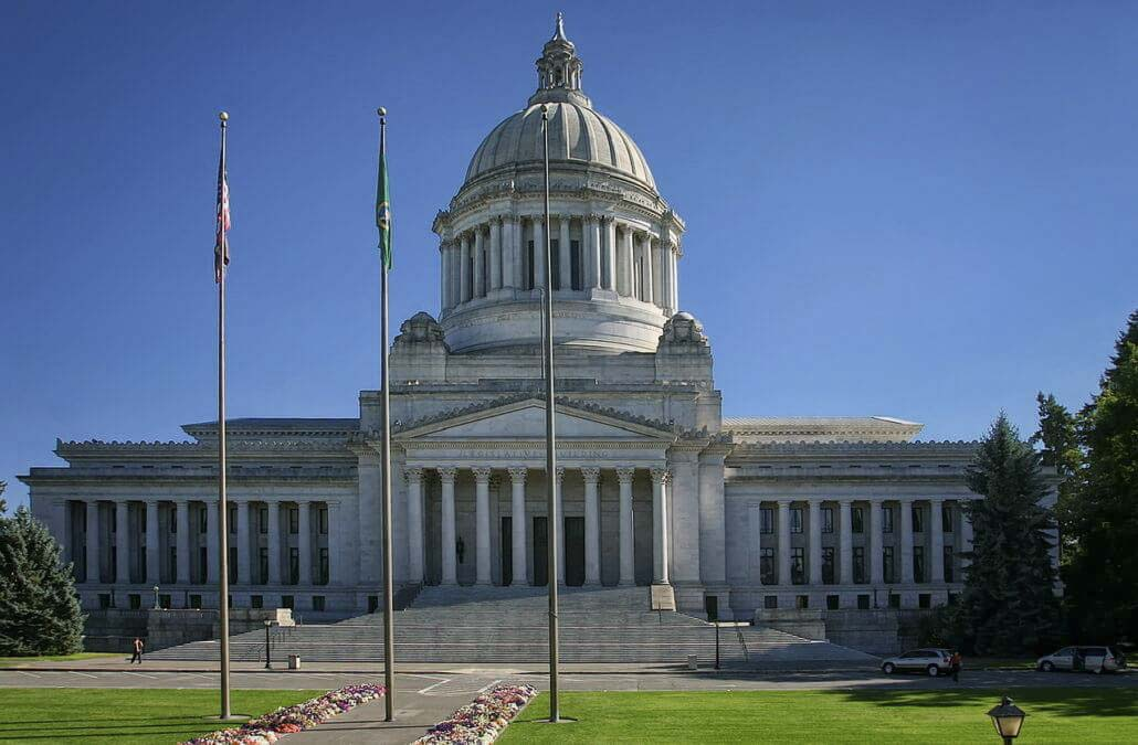 Washington state capitol building.
