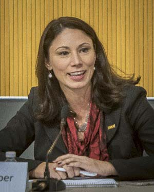 Treasurer Alishia Topper