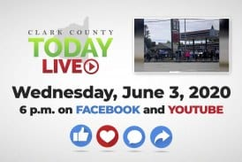 WATCH: Clark County TODAY LIVE • Wednesday, June 3, 2020