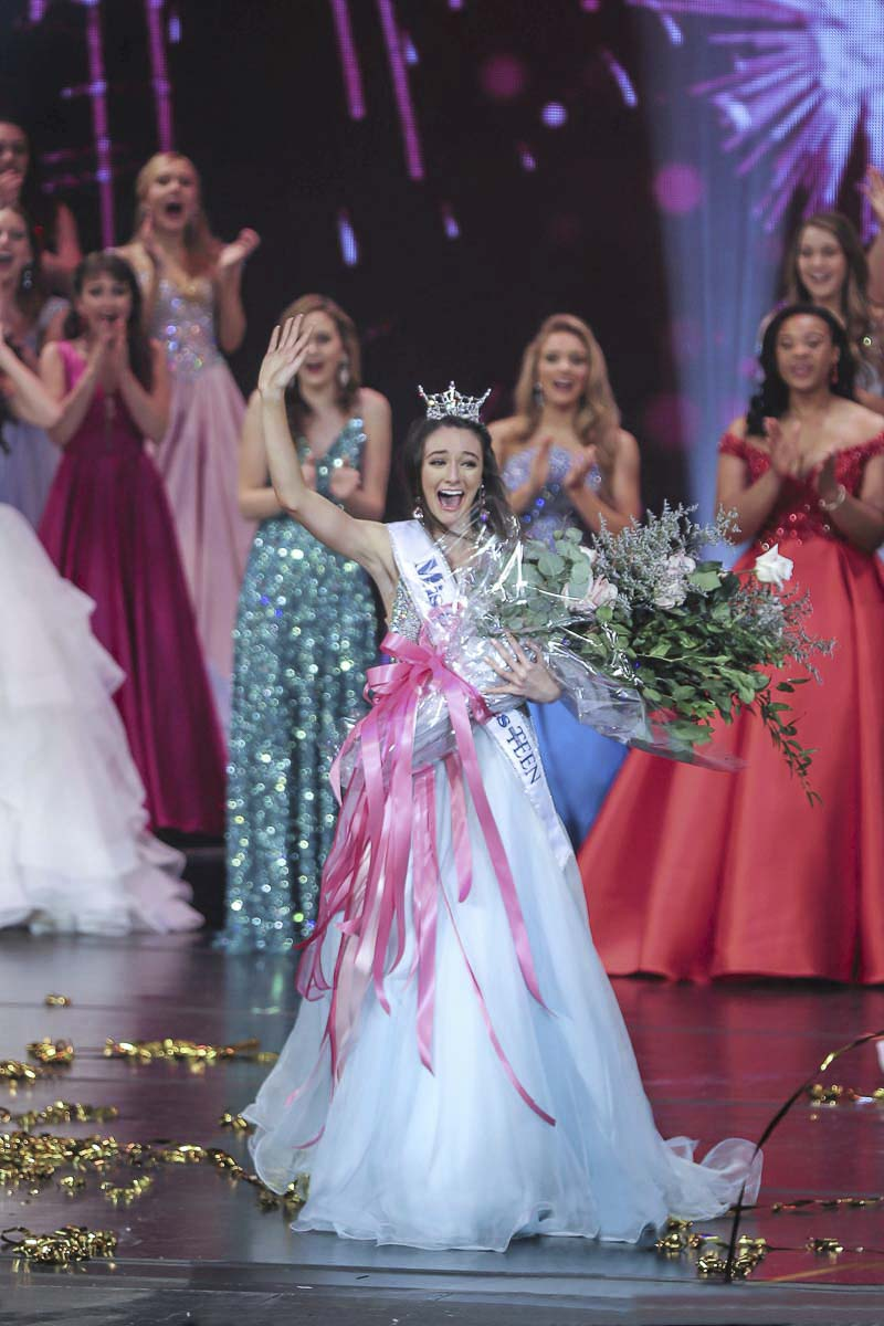 Vancouver's Payton May is shown here shortly after being crowned Miss America's Outstanding Teen at a competition held in Orlando, Florida in July. Photo provided to ClarkCountyToday.com through social media