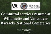 Committal services resume at Willamette and Vancouver Barracks National Cemeteries