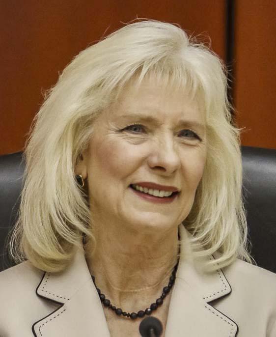 County Chair Eileen Quiring