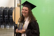 Woodland High School class of 2020 graduate Elisabeth Patnode receives award for community service