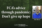 FCA's advice through pandemic: Don't give up hope