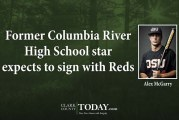 Former Columbia River High School star expects to sign with Reds