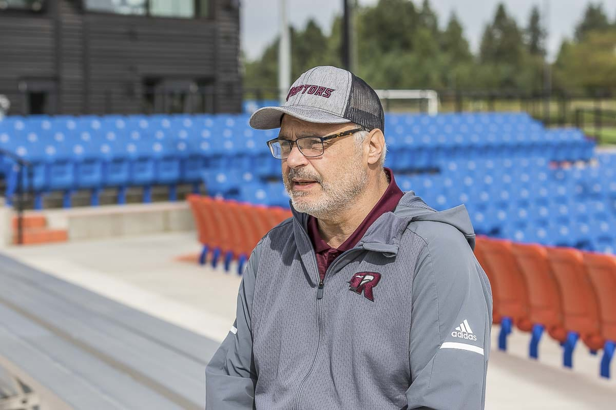 Gus Farah, the general manager for the Ridgefield Raptors, said it was a heartbreaking decision to call off the 2020 season. Photo by Mike Schultz
