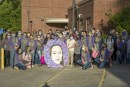 Memorial parade drives to school where Tiffany Hill was murdered