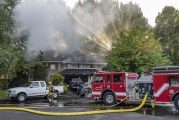 Clark County Fire & Rescue controls garage fire in Woodland