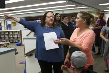 Woodland Public Schools bids a fond farewell to Columbia Elementary School Principal Ingrid Colvard