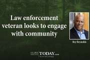 Law enforcement veteran looks to engage with community