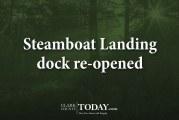 Steamboat Landing dock re-opened