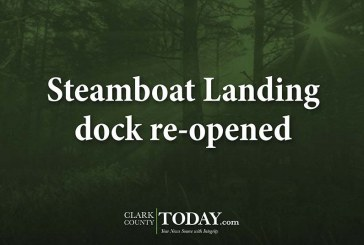 Steamboat Landing dock re-opened