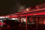 Vancouver Fire Department responds to two-alarm fire at apartment complex