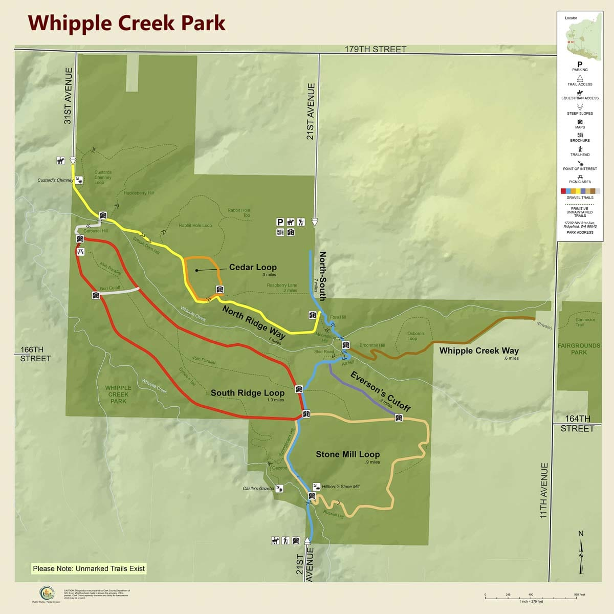 "Users of Whipple Creek Regional Park are concerned the park is being ""loved to death'' and it could soon have increased traffic of users from nearby residential development."