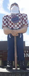 Portland's Paul Bunyan statue