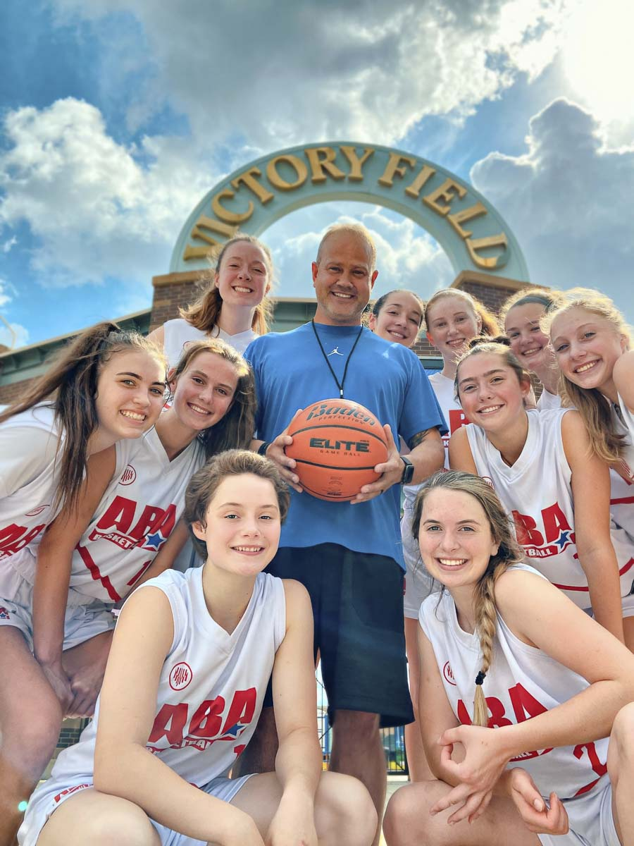 The ABA basketball club won its bracket at a tournament in Indianapolis recently. Club basketball, like all sports, has seen its share of cancellations this summer. But club teams are still ready to travel whenever a tournament does go on as planned. Photo courtesy Cindy Litchford