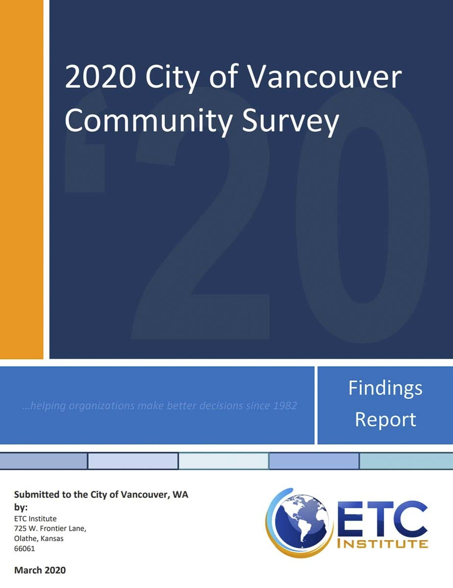 City manager notes most residents still feel Vancouver is a good place to live, but work remains to be done.