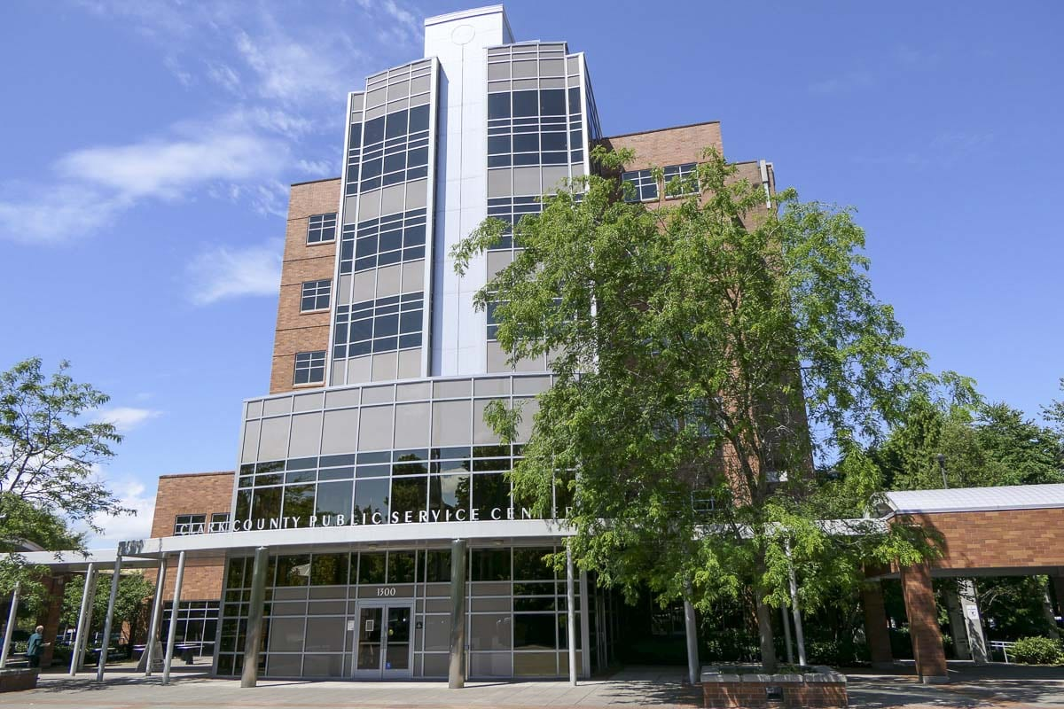 The Clark County Public Services Building. File photo