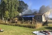 Vancouver Fire Dept battles attic fire in Glenwood Neighborhood