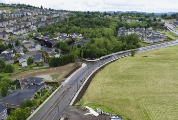 Overhaul of Camas' Brady Road nears completion with paving this week