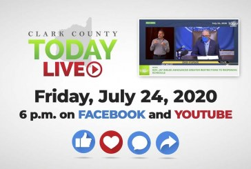 WATCH: Clark County TODAY LIVE • Friday, July 24, 2020