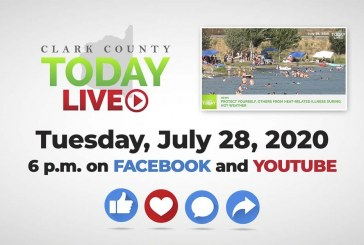 WATCH: Clark County TODAY LIVE • Tuesday, July 28, 2020
