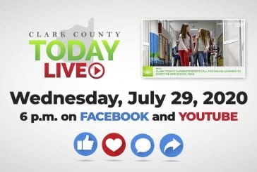 WATCH: Clark County TODAY LIVE • Wednesday, July 29, 2020