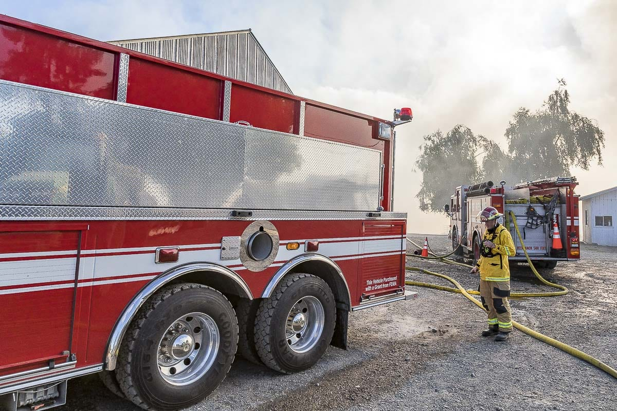 The Camas-Washougal Fire Department covers some 20 square-miles and 33,000 citizens for fire services. Photo by Mike Schultz