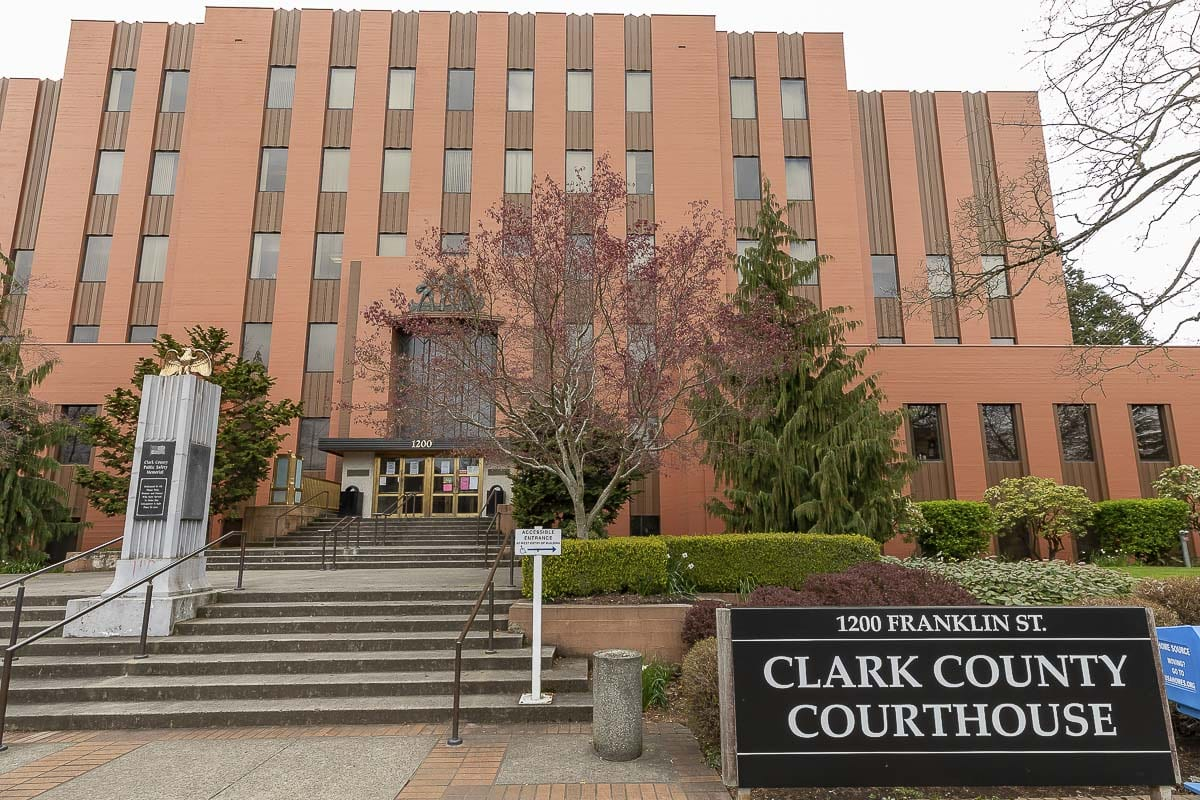 Clark County Courthouse. Photo by Mike Schultz