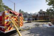 Crews respond to two-alarm duplex fire in Vancouver