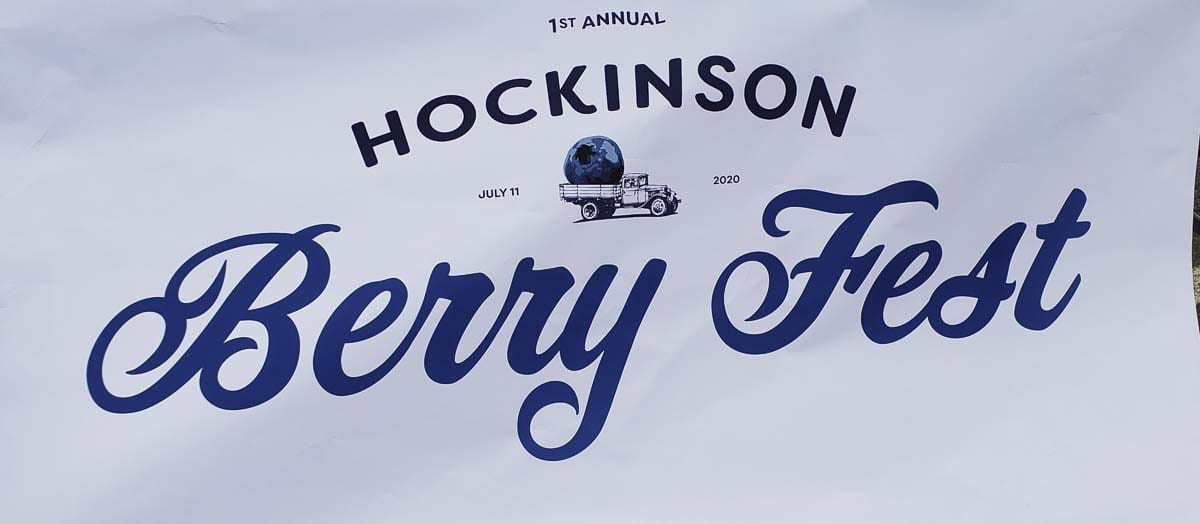 The Hockinson Berry Fest made its debut in downtown Hockinson on Saturday. Photo by Paul Valencia