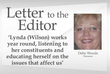 Letter: 'Lynda (Wilson) works year round, listening to her constituents and educating herself on the issues that affect us'
