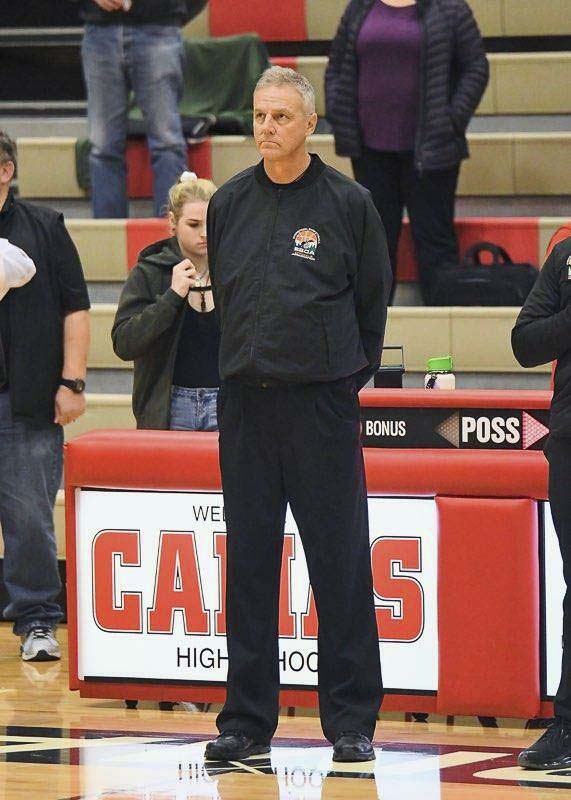 Neil Anderson, president of the Evergreen Basketball Officials Association, said his association will be ready when basketball returns. Photo courtesy Neil Anderson