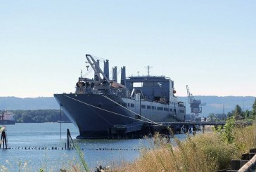 Port of Vancouver welcomes USNS Brittin for extended stay