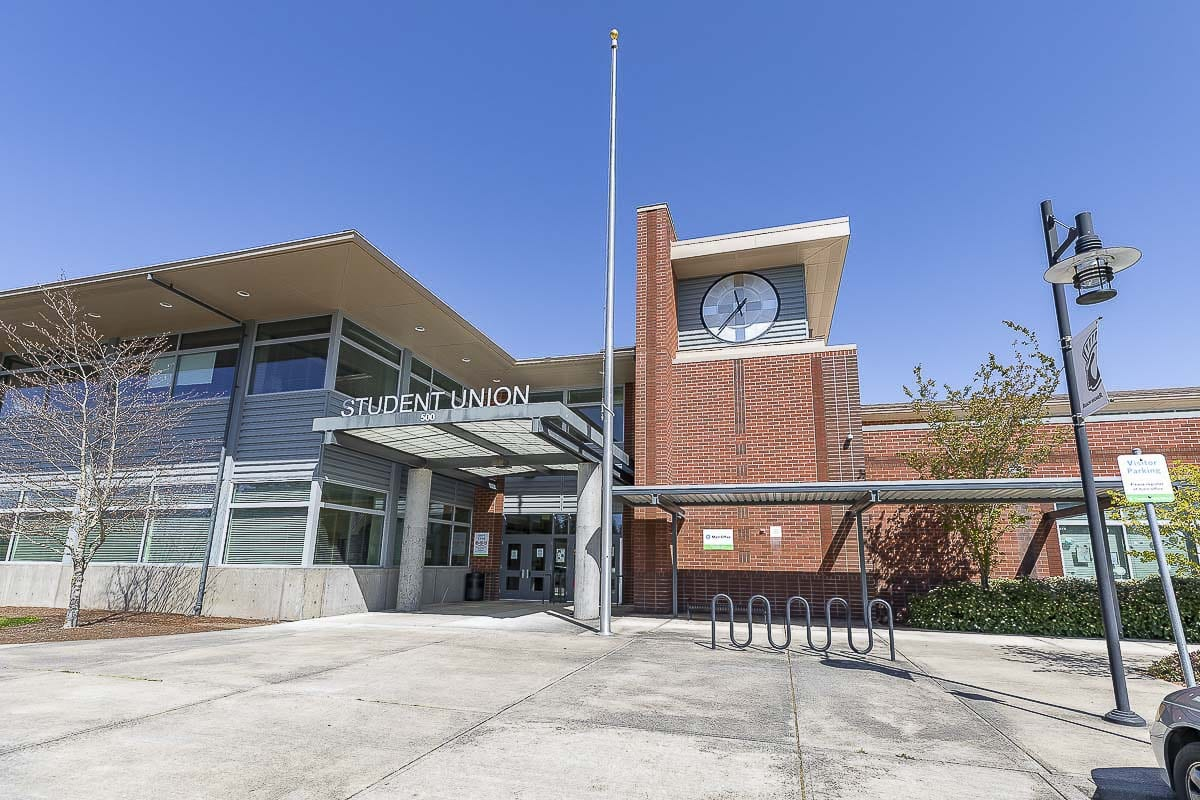 Each high school in the Evergreen School District, including Union High School (shown here), will participate in a graduation celebration on Aug. 5 at McKenzie Stadium. Photo by Mike Schultz