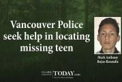 Vancouver Police seek help in locating missing teen
