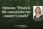 Opinion: 'Where is the concern for our country's youth?'