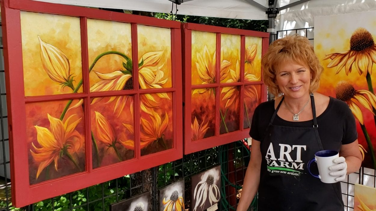 Camas artist Liz Pike invites artists and the public to her farm in Camas