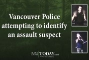 Vancouver Police attempting to identify an assault suspect