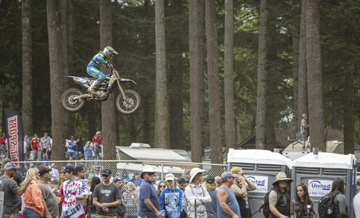 The Washougal MX National returns to Clark County on Aug. 22, but tickets for the races will not be sold. Photo by Jacob Granneman