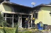 Vancouver mobile estate fire displaces resident