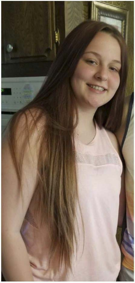 Alyssa Young, 15, was last seen at her mother's home in Woodland on July 3. Photo courtesy of Clark County Sheriff's Office