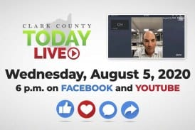 WATCH: Clark County TODAY LIVE • Wednesday, August 5, 2020